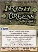 Irish Greens Golf Course & Restaurant