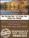 Lakeside Casual Dining & Sports Bar